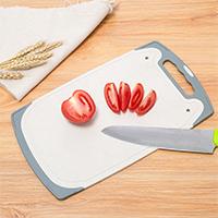 小麦秸秆抗菌切菜板 防滑砧板--北欧黄(788)实用礼品清单