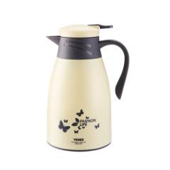 菲馳(VENES)寶麗來時尚家用保溫壺玻璃內膽暖水壺1000ML 實用禮品定制