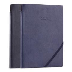 得力(deli)25K MEMORY商务简约皮纹笔记本 记事本 公司吸引客户的礼品