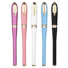 毕加索 艾琳系列钢笔 少女玫瑰花瓣造型 女式精致礼品钢笔 3.8妇女节礼品方案