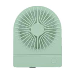 素雅桌面台式风扇 迷你小巧便携随身USB充电风扇 广告促销礼品 夏季活动奖品