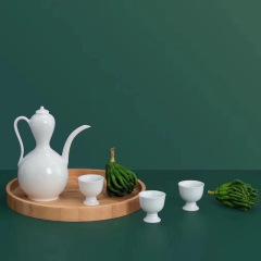高端陶瓷酒具套装 商务礼品 适合送领导的高端礼品