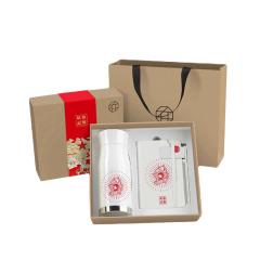 【長沙紅色系列一筆一本一簽一杯 】小號套裝  創意設計 紀念禮品