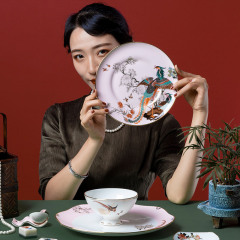 百鸟朝凤两人食套装 创意网红碗礼品盒伴手礼 送客户礼品推荐