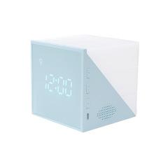 创意时光魔方闹钟 LED七彩充电小夜灯 伴睡数字闹钟 活动奖品送什么好
