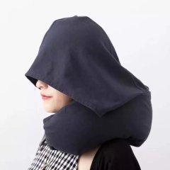 muji 無印良品風 帶帽款辦公午睡旅途好伴侶U型枕 護頸枕旅游小禮品