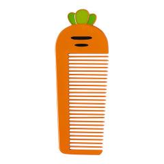 胡萝卜卡通金属小梳子 创意设计 推广小礼品有哪些