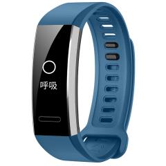 華為(HUAWEI)運動手環GPS版 50米防水游泳 心率監測 科學睡眠 專業運動 微信電話提醒