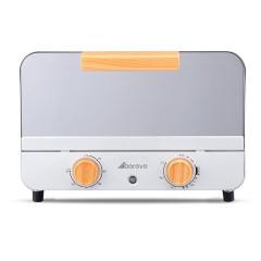 艾贝丽 小型家用12L电烤箱 轻奢复古北欧风迷你电烤箱 公司年会员工礼品