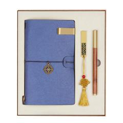 创意实用笔记本+U盘+签字笔商务礼盒套装 公司周年纪念礼品
