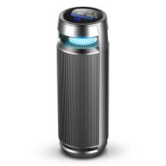 甲醛負離子車載空氣凈化器鋁合金空氣凈化器可定制LOGO 汽車禮品