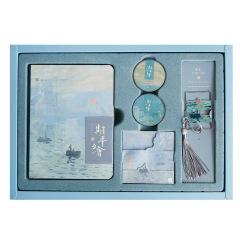 美术博物馆梵高莫奈记事笔记本套装 美观实用 会议伴手礼