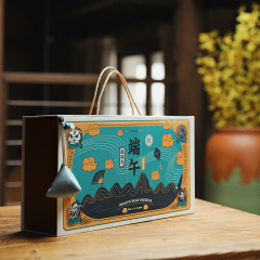 【风俗志】创意国潮风端午粽子礼盒套装 互联网公司端午礼盒