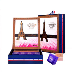 【法蒂歐】印象巴黎月餅禮盒  中秋節禮品有哪些