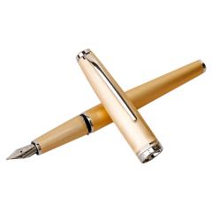英雄(Hero) 金属拉丝铱金笔 透明树脂礼盒钢笔 时尚商务礼品