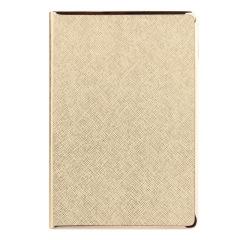 A5滚金/银系列记事本 贴边式金属框设计 发给员工的礼品