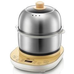 小熊(Bear)双层预约定时蒸蛋器煎蛋器 多功能全不锈钢早餐机