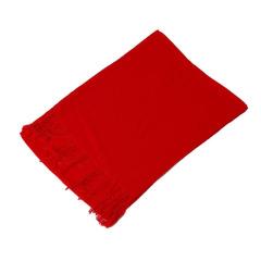 80克斜纹年会聚会大红围巾开门红围巾 可定制Logo 开门红围巾