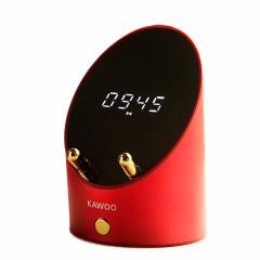 KAWOO创意多功能灵犀感应音箱 桌面迷你闹钟手机架无线蓝牙音箱 科技感小礼品 年轻人喜欢什么礼品