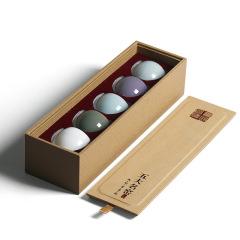 陶瓷五大名窑茶杯套装 礼品 礼品茶杯定制 适合公司活动的礼物