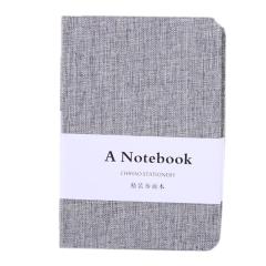 简约纯色布面笔记本 创意清新手账本 10元以下展会礼品