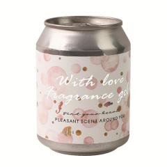 四季花園罐子香氛 無火香薰 固體香膏 空氣清新劑 創意伴手禮 汽車香膏
