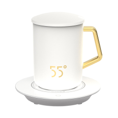 LKK55度 品度恒温杯 强化瓷杯体水杯 礼品方案