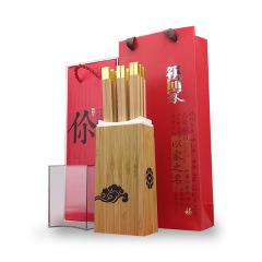【筷回家】商务高档红木筷子礼盒 8双装 公司周年纪念品做些什么