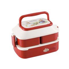 兔子双层分格餐盒 便携大容量 奖励学生的礼品