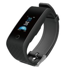 彩屏血壓心率手環 TFT彩屏 定時監測血壓心率 運動模式切換 多功能運動手環 智能禮品精選