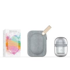 快客杯 玻璃陶瓷一壶二杯套装 便捷旅行茶具 公司活动送什么礼物好