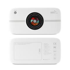 REMAX 创意相机造型移动电源 大容量无线充电宝10000毫安 无线充移动电源 奖品
