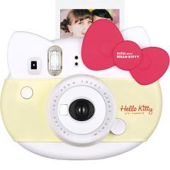 富士(FUJIFILM)INSTAX 拍立得 一次成像相机 HelloKitty特别版相机 - 红色蝴蝶结