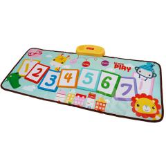 费雪防滑实用儿童音乐毯 健身脚踩数字玩具
