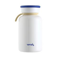 『萌小Q』休闲保温牛奶瓶 超萌保温杯 周年庆送什么礼物好