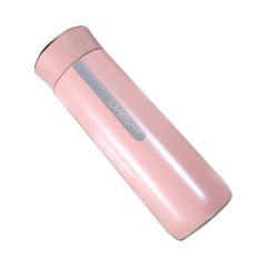 無線充款智能保溫杯溫度顯示喝水提醒帶茶隔保溫杯480ML 公司年會活動禮品
