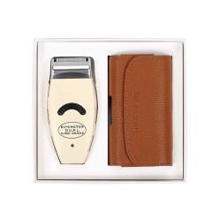 雷明登(REMINGTON)經典復古雙刀頭剃須刀穿越版超長續航 年會禮品推薦