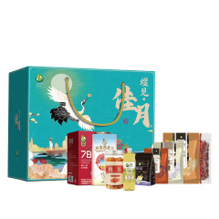 【煜见佳月-2664款】珍珠枣单晶冰糖即食燕麦片银耳干货礼盒 公司活动送什么