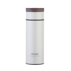 菲馳(VENES)卡芙時尚保溫杯硅膠擰繩設計簡約保溫杯 商務禮品