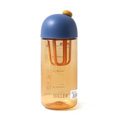 【出行能量站】趣菇轻摇塑料杯 Tritan摇摇杯 便携健身水杯 随手杯420ML 健身房有什么送