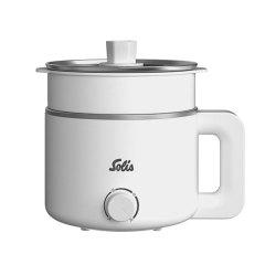 索利斯(Solis) 家用小型多功能电煮锅 带蒸笼可蒸可煮 发员工奖品都有什么