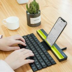 卷轴式无线蓝牙折叠键盘 便携口袋键盘 平板电脑手机通用 200元左右实用的礼物
