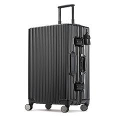 24寸智能指紋解鎖太陽能可充電告別密碼 黑科技創新旅行拉桿行李登機箱 商務旅行禮品
