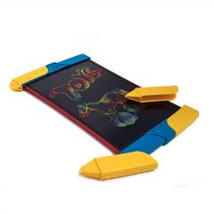 【 彩虹版】美国BoogieBoard儿童电子手绘板Scribble手写板液晶小画板  儿童节小礼物