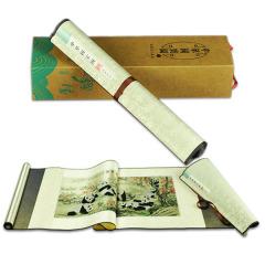 《中华国宝图》珍藏版 丝绸织锦画 真丝织锦 中国文化礼品