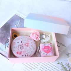 歐式森系 網紅時尚花茶伴手禮盒 什么贈品最吸引女人