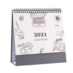 2021年桌面台历 简约桌历定制 10元左右广告日历