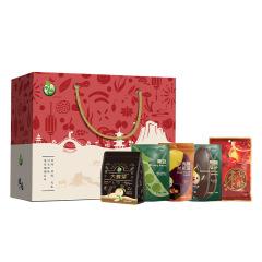 【煜见伴手礼-792款】青豆+焦糖瓜子+兰花豆+阿胶枣+大麦茶 公司活动礼品送什么