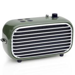 【毒奏】便攜藍牙音箱 迷你立體聲重低音桌面音箱 復古無線收音機小音響 突出閃耀的禮品有哪些