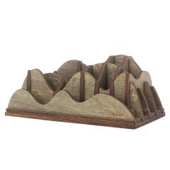 多功能笔插 创意木质笔筒桌面收纳盒手机文具收纳盒 销售礼品